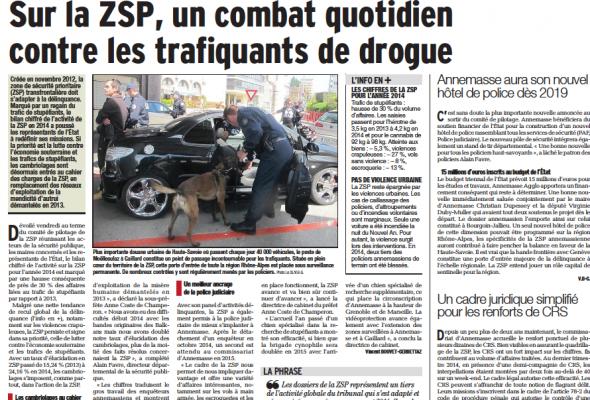 Sur la ZSP, un combat quotidien contre les trafiquants de drogue (DL)