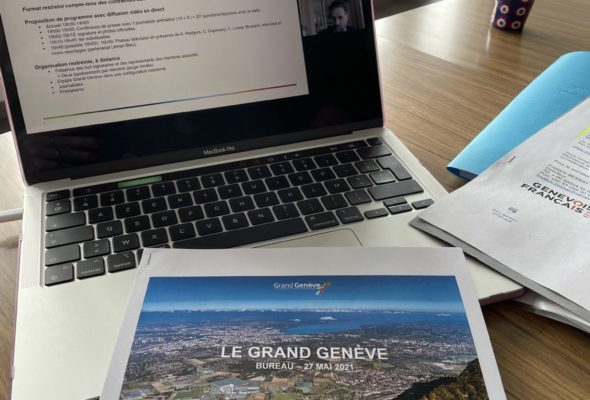Réunion du bureau du GLCT Grand Genève en visio