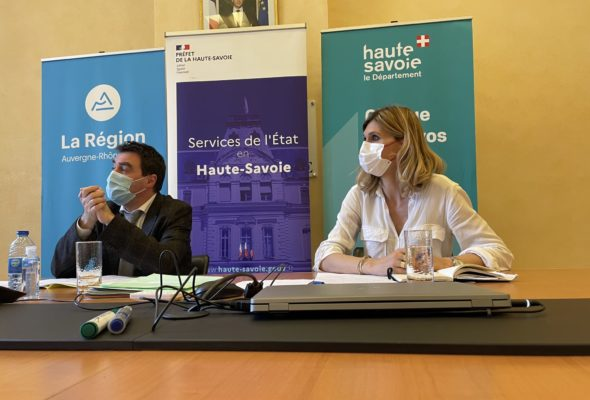 Réunion avec le préfet sur le volet territorial du CPER 2021-2027 et les élus Pôle métropolitain du Genevois